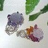 Atelier La mer ~ Wire Art Jewelry Lesson-レーシーリングサンプル