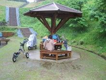 歩き人ふみの徒歩世界旅行 日本・台湾編-雨の朝食