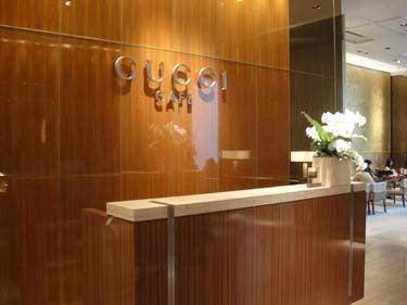 横浜発 驢馬人の美食な日々-Gucci Cafe00