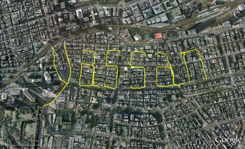 やっさんのGPS絵画プロジェクト -Yassan's GPS Drawing Project--GPS100529