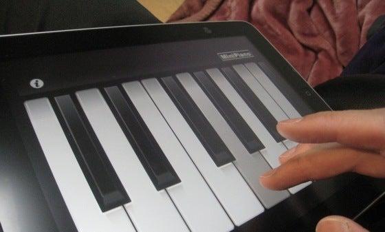 $∞最前線 通信-piano on iPad