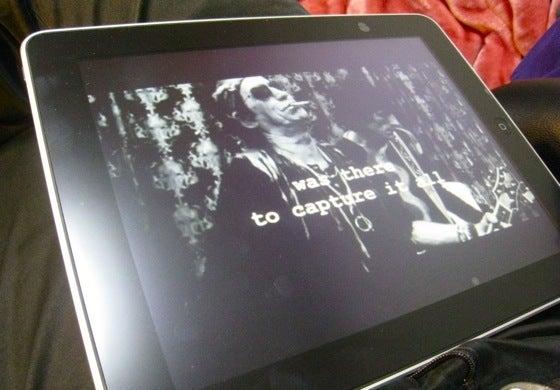 $∞最前線 通信-Movie on iPad