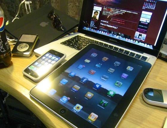 $∞最前線 通信-iPad,iPhone,Macbookpro of Ryuji
