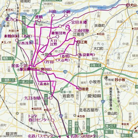 路線バス|名鉄バス