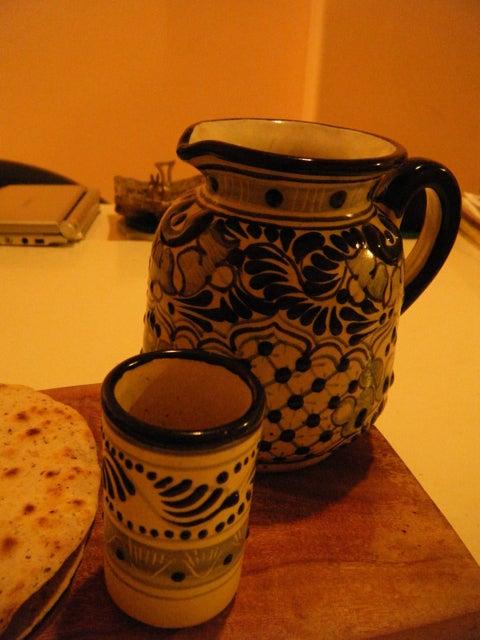 $Hiroshi OKUNO JAPAN . MEXICO-お茶ポット. 湯吞み