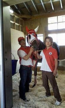 $矢作厩舎オフィシャルブログ「よく稼ぎ、よく遊べ!」Powered by Ameba-100602ノア馬房