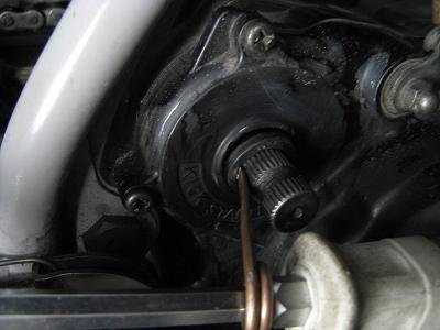 ナベサンの自動車修理 バイク修理-オイルシール交換44