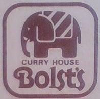 $カレーハウス・ボルツのブログ-看板