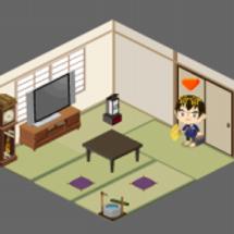ピグのお部屋、模様替…
