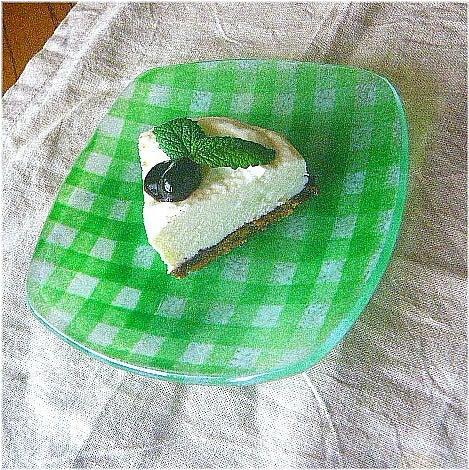 ++かわぃくておいしぃ++-レアチーズケーキ