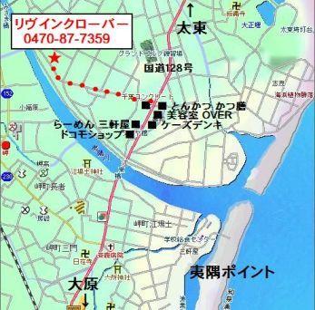 ボディボードショップ 地図
