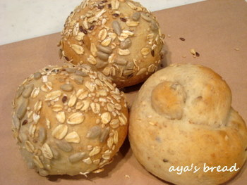 aya's bread  都内自宅で小さなパン教室