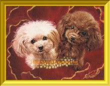 ファンタジー油絵描きErico(エリコ)の動物・ペット肖像画館-ティーカッププードル
