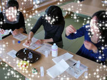 ☆東京都江東区☆ Holy Colors パステルシャインアート & カラーセラピー & 筆跡診断
