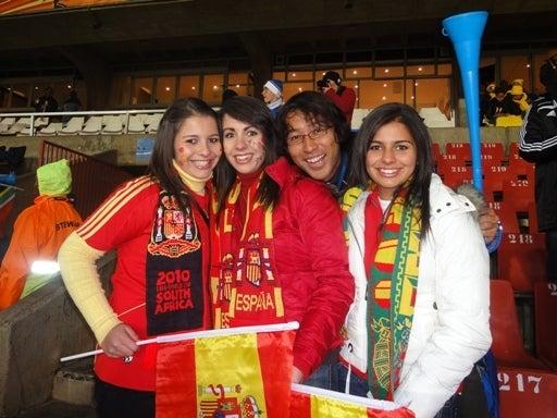 世界一蹴の旅-スペイン3人組②