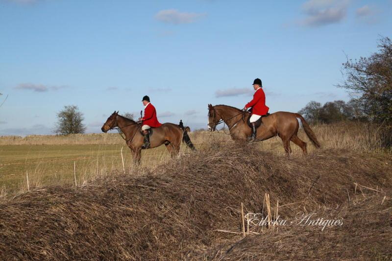 美しい国、英国のアンティーク&カントリーライフ-Hunting