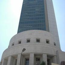 大阪証券取引所の前
