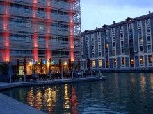 やっさんのGPS絵画プロジェクト -Yassan's GPS Drawing Project--運河のレストラン