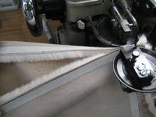 大木毛皮店工場長の毛皮修理リフォーム-毛皮専用巻き縫いミシン