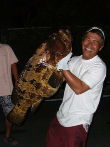 沖縄から遊漁船「アユナ丸」-ミーバイ
