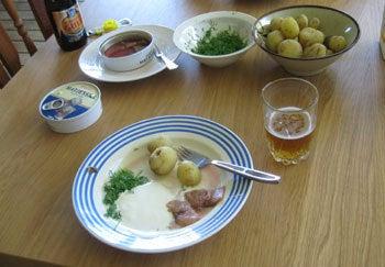 $北欧からコンニチワ-夏至の食事