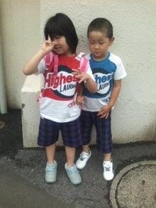 格闘親子と、のほほん母-100628_0910~01.jpg
