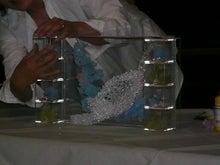 花嫁のためのウェディングブーケ-プリのデモンストレーション1
