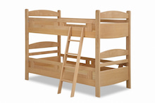 木工所のブログ-アルダー材 2段ベッド キッズ