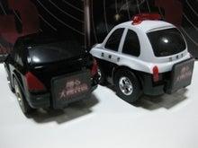 BZ19880921のチョロQコレクション-踊る大捜査戦3 パトカー リア