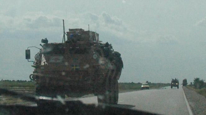 アフガニスタン便り-ISAF convoy