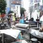 渋谷駅前にステージが…
