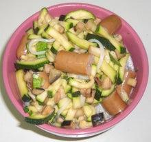 健康に、楽しく、食って、遊んで、寝て~            プリンちゃんのGo! Go! Cooking-冷製サラダうどん