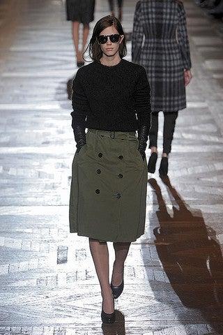 $Kika のマンハッタンライフ-Dries Army Skirt