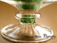 Plumerry(プルメリー)プリザーブドフラワースクール (千葉・浦安校)-ガラス エッグ プリザーブドフラワー