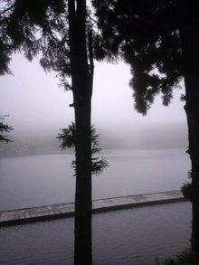 雑貨屋 子子子(こねこ)の日々-霧がかり聖湖.jpg