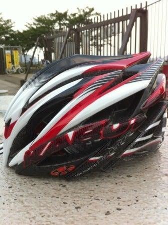 がんばる40才-ヘルメット