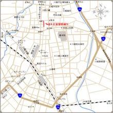 $夫婦世界旅行-妻編-川越地図