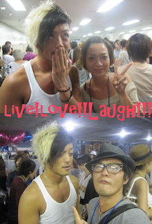 Live!Love!!Laugh!!!-dancers