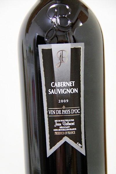 $cheltenhamのブログ-JeanBalmont Cabernet Sauvignon 2009