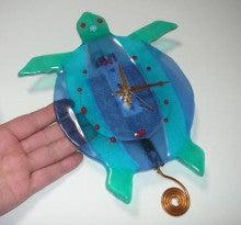 亀の子これくしょん-ガラスの時計