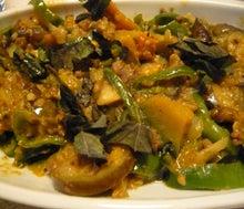 アキステの野菜料理-味噌炒め