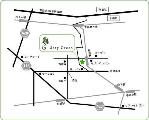 ステイグリーン物語-MAP