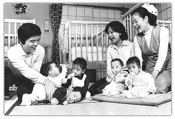 昭和51年 鹿児島で五つ子ちゃん...