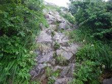 山、旅、猫、酒。気が向いたら仕事。-重太郎新道の登り(1)