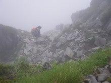 山、旅、猫、酒。気が向いたら仕事。-重太郎新道の登り(2)