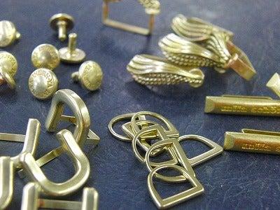 METAL  HOUSE   - about  metal fittings --オリジナル真鍮製金具 色々