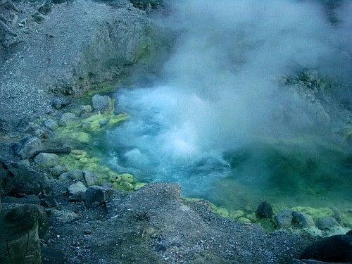 (足跡の足跡)めんたる系-玉川温泉大噴