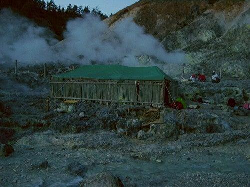 (足跡の足跡)めんたる系-玉川温泉岩盤浴