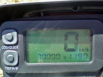 The answer is blowin' in the wind.-70,000km