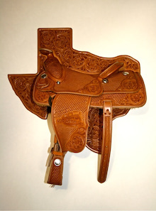 $Kawamura Fine Leather Arts & Crafts Diary-1/2 Half size saddle